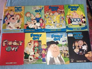 Lote Temporadas Completas De Padre De Familia. En Ingles.