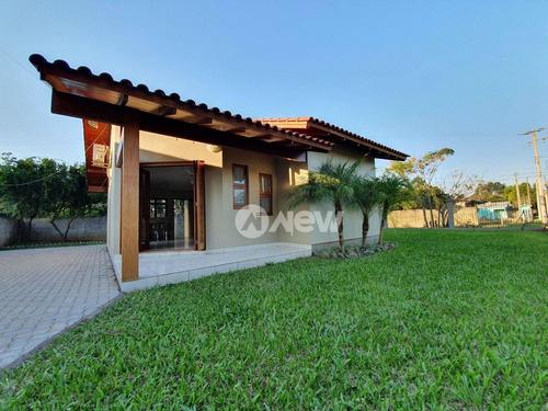 Imagem 1 de 25 de Casa Plana Com 2 Dormitórios À Venda, 79 M² Por R$ 348.000 - Das Quintas - Estância Velha/rs - Ca3893