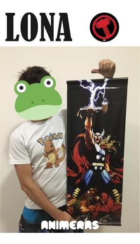 Lona De Thor Marvel Comics Para Colgar - Animeras