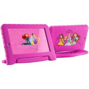 Tablet Disney Princesas Plus Wifi 8gb Dual Câmera Rosa Nb281