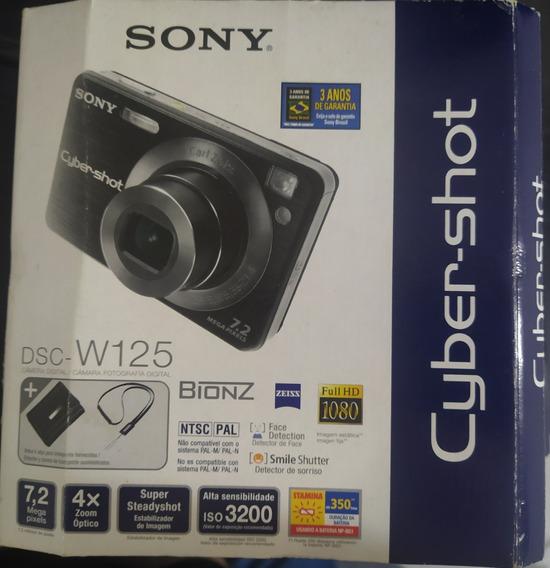 Câmera Sony Cyber-shot Dsc-w125
