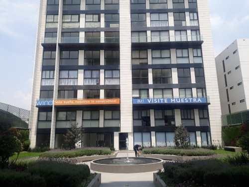 Departamento Amueblado Seminuevo En El Residencial Wind Universidad.