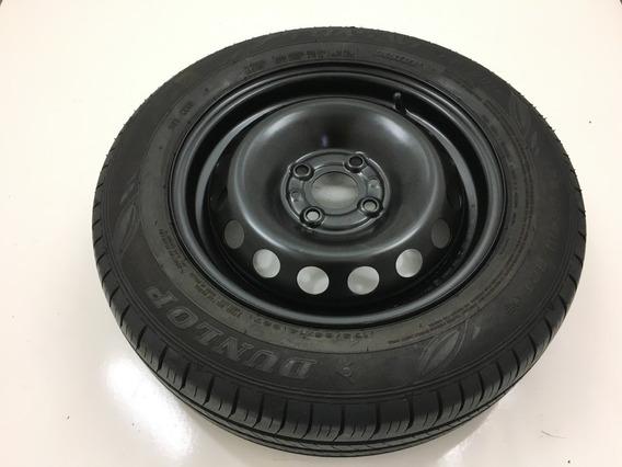 Estepe Dunlop Pneu Fiat Original Argo Novo Uno Mobi Aro 14
