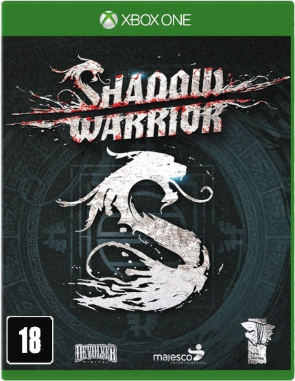 Jogo Xbox One Shadow Warrior - Lacrado Game Xbox One