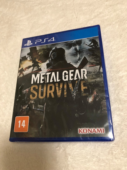 Metal Gear Survive - Lacrado - Com Legendas Em Português