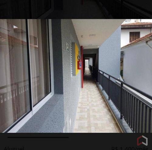 Imagem 1 de 11 de Apartamento Com 2 Dormitórios Para Alugar, 30 M² Por R$ 1.300/mês - Vila Regente Feijó - São Paulo/sp - Ap0775