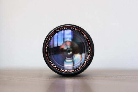 Lente Vivitar 70-210mm Canon Fd - F/2.8-4