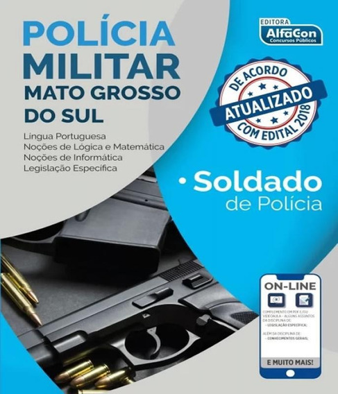Policia Militar Do Mato Grosso Do Sul - Pm Ms