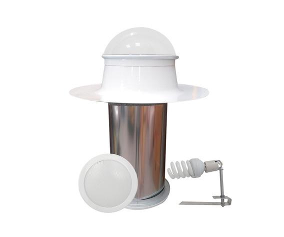 Tragaluz Solux 10 Con Unidad De Luz