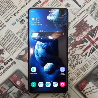 Samsung Galaxy S10 Plus + Funda Spigen