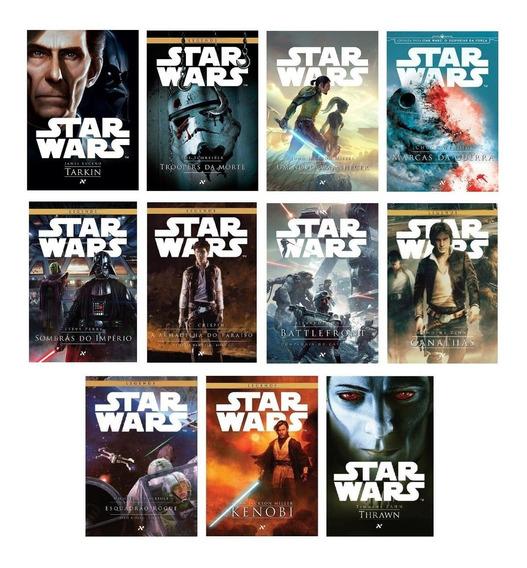 Kit 11 Livros Coleção Star Wars #