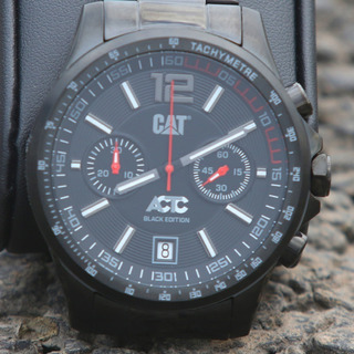 Reloj Cat Caterpillar Actc Black Edition Ad.163.1a.13a Casco