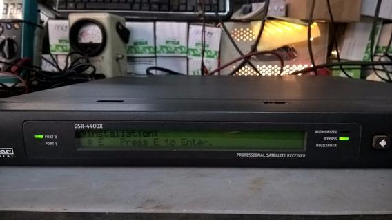 Receptor De Satellite Profissional Digital Dsr-4400x