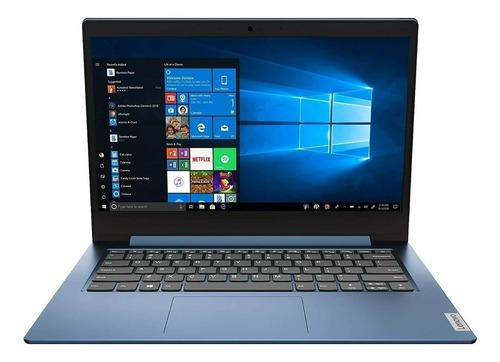 "Imagen 1 de 7 de Notebook Lenovo IdeaPad 14IGL05  ice blue 14"", Intel Celeron N4020  4GB de RAM 64GB SSD, Intel UHD Graphics 600 1366x768px Windows 10 Home"