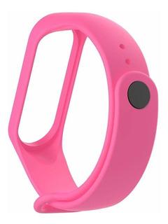 Correa Reemplazo Pulsera Smartwatch Mi Band 3/4 Xiaomi Rosa