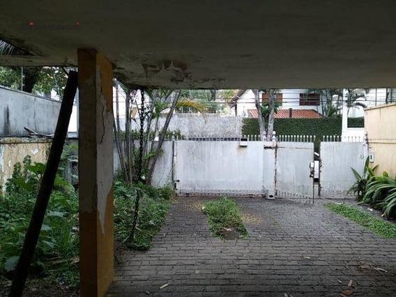 Terreno À Venda, 500 M² - Brooklin - São Paulo/sp - Te0103