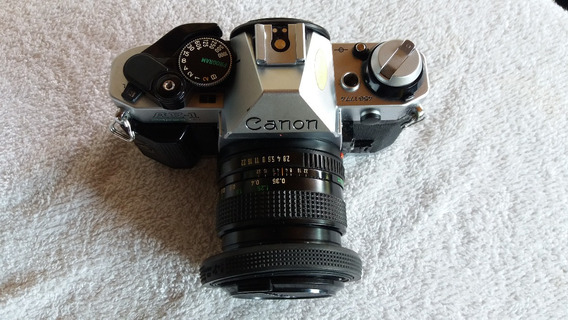 Câmera Canon Ae-1 Program+objetiva 35mm