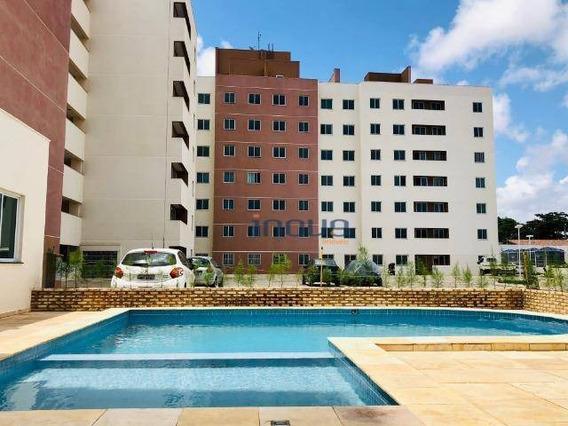 Apartamento Com 2 Dormitórios À Venda, 56 M² Por R$ 146.000,00 - Cambeba - Fortaleza/ce - Ap0872