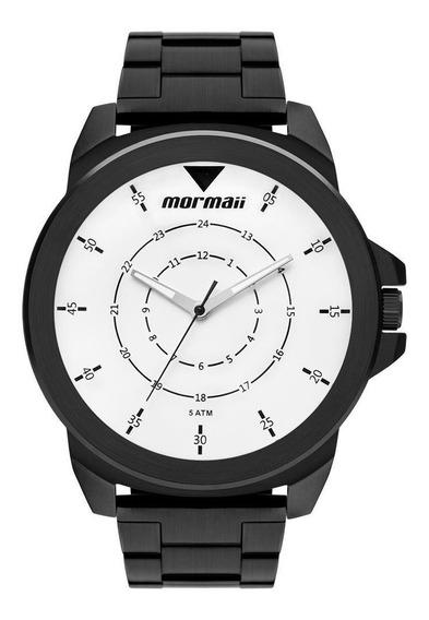 Relógio Mormaii Masculino Interestelar Preto Mo2035jr/4p
