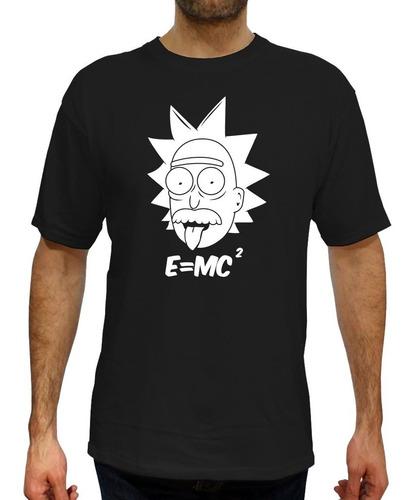 Imagen 1 de 4 de Playera Rick And Morty -  Einstein Rick - Envio Gratis