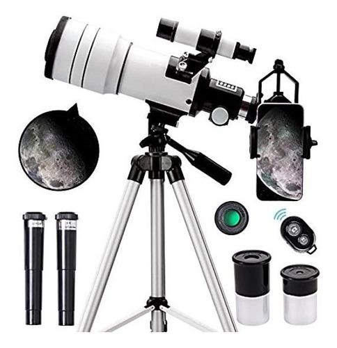 Imagen 1 de 6 de Telescopio Para Niños Y Adultos Y Principiantes Portátil