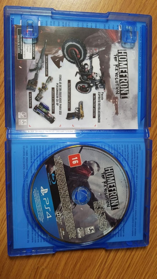 Homefront -ps4 - The Revolution Português Mídia Física (dvd)