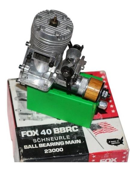 Motor Glow F O X .40 R / C Schneurle - Excelente !