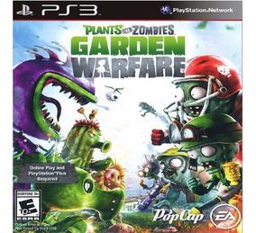 Jogo Plants Vs Zombies Garden Warfare Ps3 Midia Digital Psn