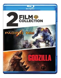 Blu-ray : Pacific Rim/ Godzilla (eco Amaray Case, 3 Pack)
