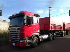 Scania R470 6x4 C/ Bi-caçamba Ano 2012