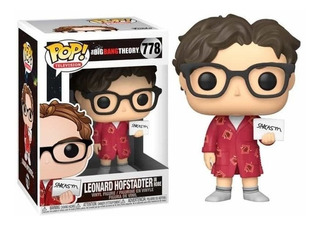 Figura Funko Pop Tv Big Bang - Leonard 778 Original Wabro