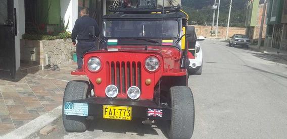 Jeep. Willys.modelo 54, Negocio Rodante Cafetero.fabuloso!