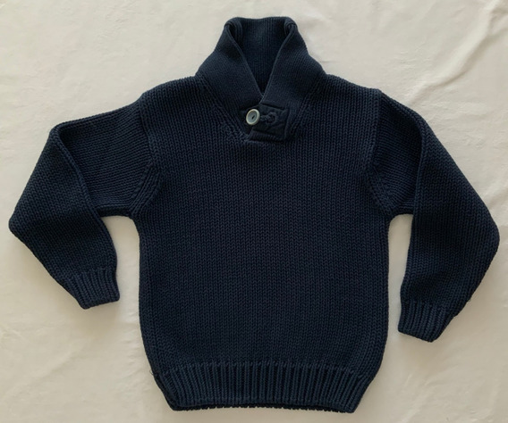Tommy Hilfiger. Sweater Azul. Niño. Talle 8/10 Años