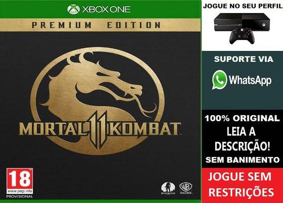 Mortal Kombat 11 Ed. Premium Xbox One Aluguel 15 Dias