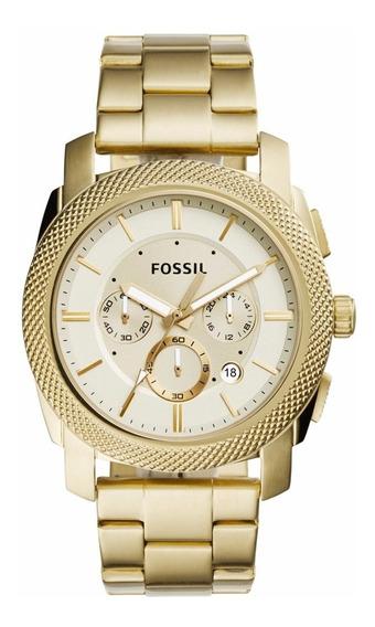 Relógio Masculino Fossil Machine - Fs5193 ( Nota Fiscal )