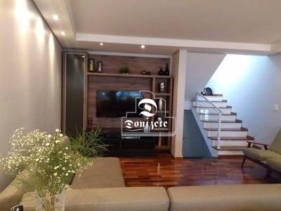 Sobrado Com 3 Dormitórios À Venda, 207 M² Por R$ 1.060.000 - Vila Guiomar - Santo André/sp - So2334