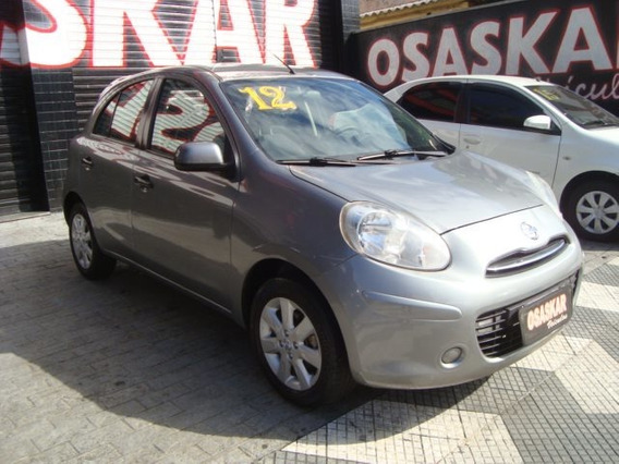 Nissan March 1.6 Sv 16v Flex 4p Manual