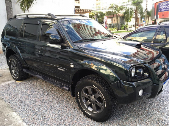 Pajero Sport At V6 Flex 4x4 2010 Verde