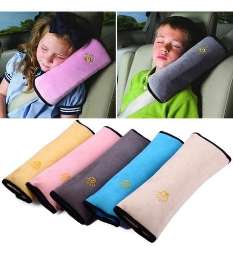 Almohada Protectora Cinturón De Seguridad Auto Bebés Niños ®