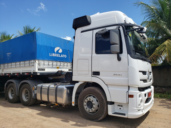 Mb 2651 Actros 6x4 Ano 2018/19 C/ 101 Mil Km = Scania Volvo