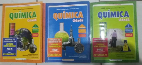 Química Cidadã Manual Do Professor 3 Volumes