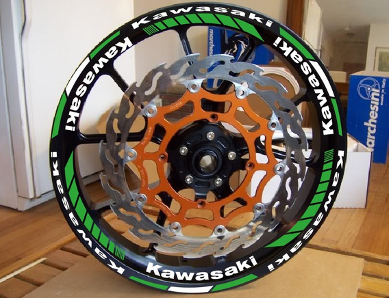 Friso De Rodas Kawasaki