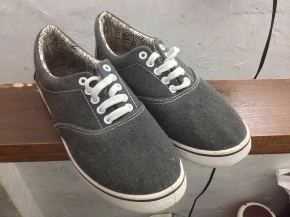 Zapatos Grises Caballero Talla 43/44
