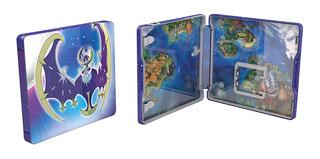 Pokemon Moon - Steelbook // Solo Estuche Sin Juego