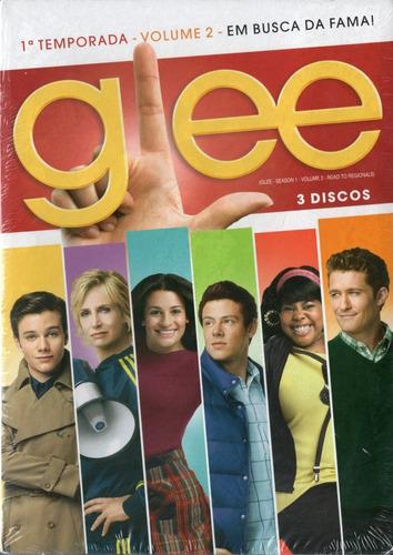 Glee 3 Dvd 1ª Temporada Vol. 2 Novo Original Lacrado