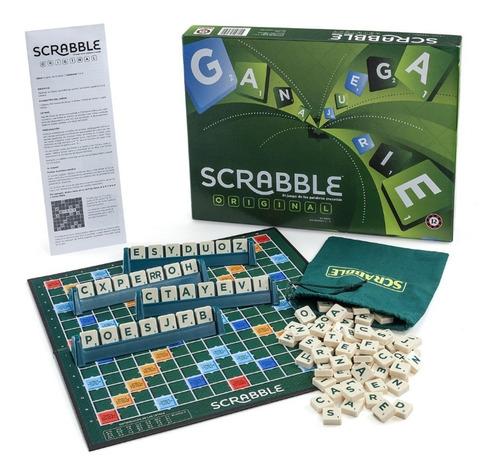 Juego Scrabble Palabras Cruzadas Ruibal Mattel Mundo Manias