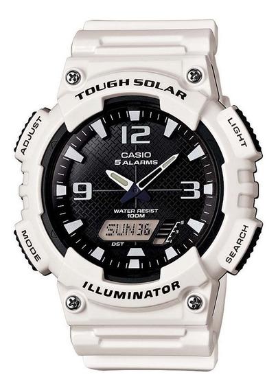 Relógio Casio Branco Aq-s810wc-7avdf - Revenda Autorizada