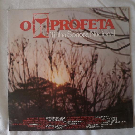 Lp O Profeta 1977, Vinil Trilha Nacional Da Novela Tv Tupi