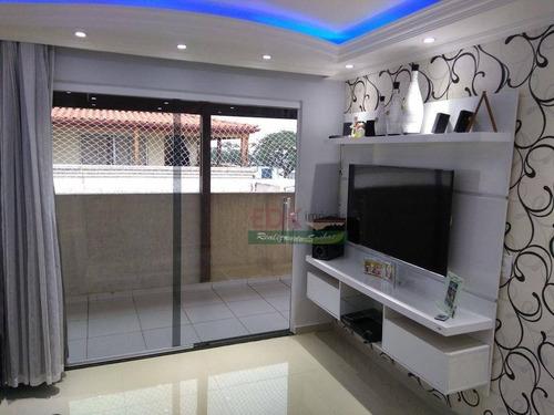 Imagem 1 de 29 de Apartamento Duplex Com 3 Dormitórios À Venda, 96 M² Por R$ 297.000 - Vila Virgínia - Itaquaquecetuba/sp - Ad0150
