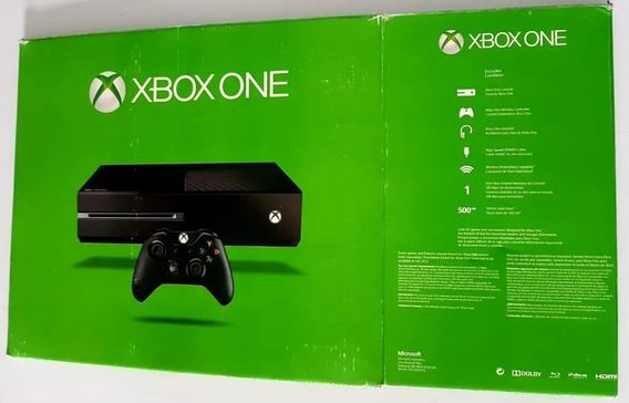 Caixa Original Xbox One Fat 500gb - Microsoft - Aproveitem